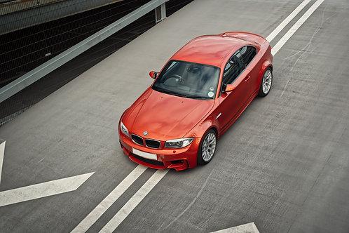 BMW 1M.  A print on Fuji Crystal Archive Matte Paper.