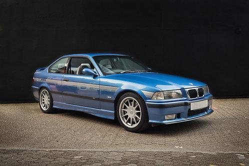 Hartge BMW M3 Evo.  A frameless print on aluminium dibond.