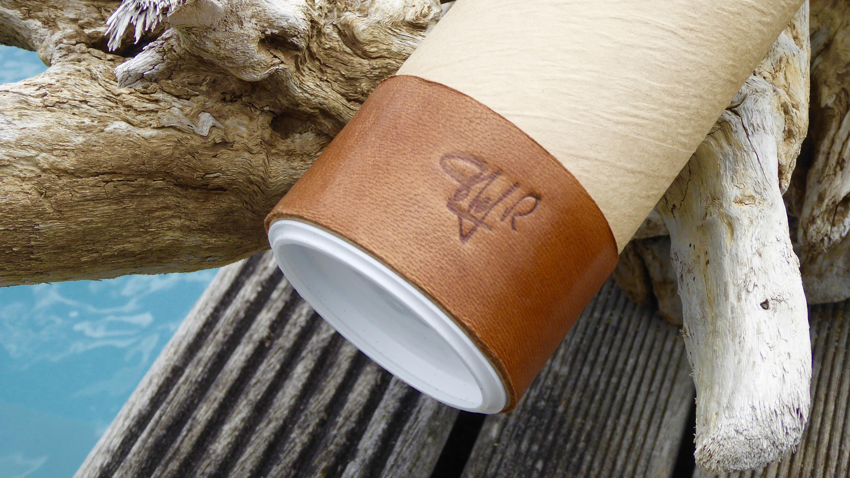 Packaging tablier cuir