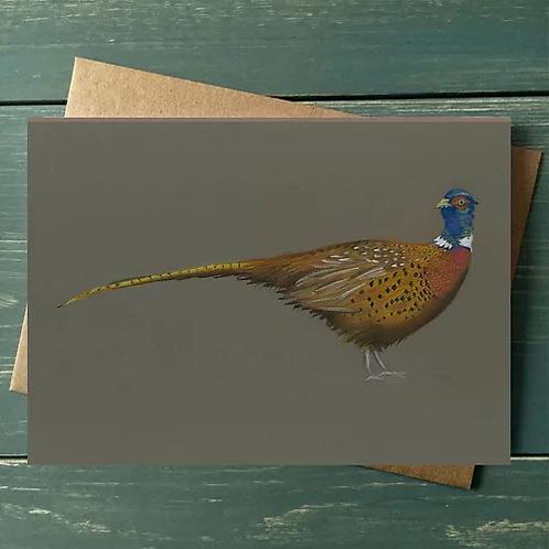'Pheasant' A6 Greetings Card