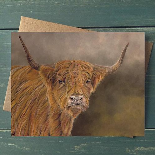'Celtic Lad' A6 Greetings Card