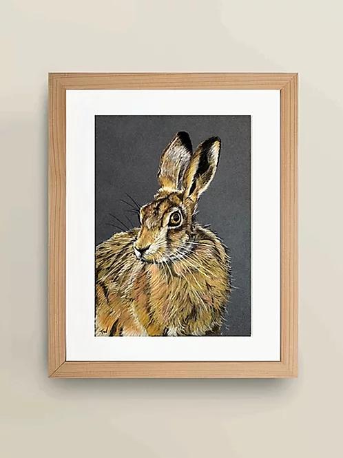 A4 'The Wise Hare' Giclée Print