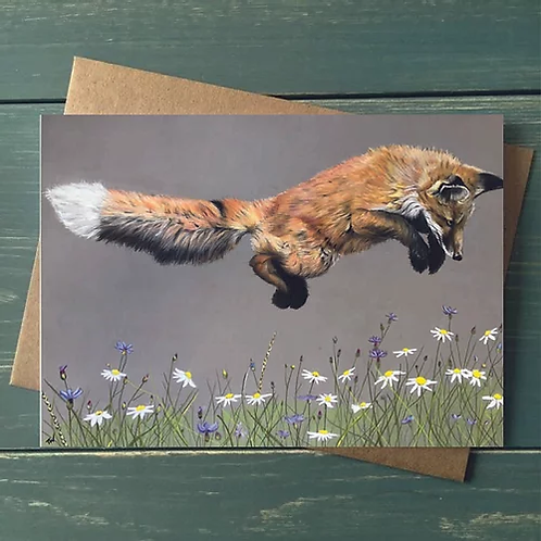 'Jump for Joy' A6 Greetings Card