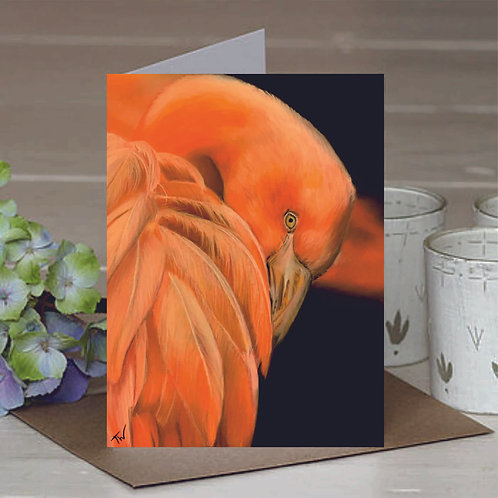 'The Fire in her Eye' A6 Greetings Card