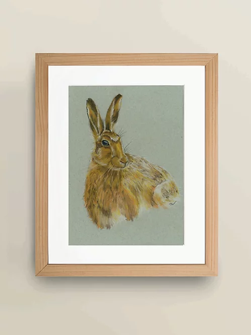 A4 'Hare' Giclée Print