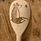 Thumbnail: Pyrography Fox Gazing Wooden Spoon