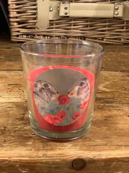 Love is in the Hare Small Country Berry Candle