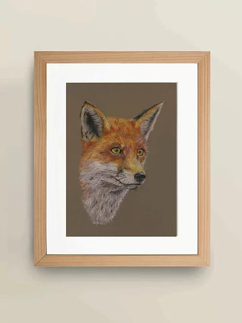 A4 'Fox' Giclée Print