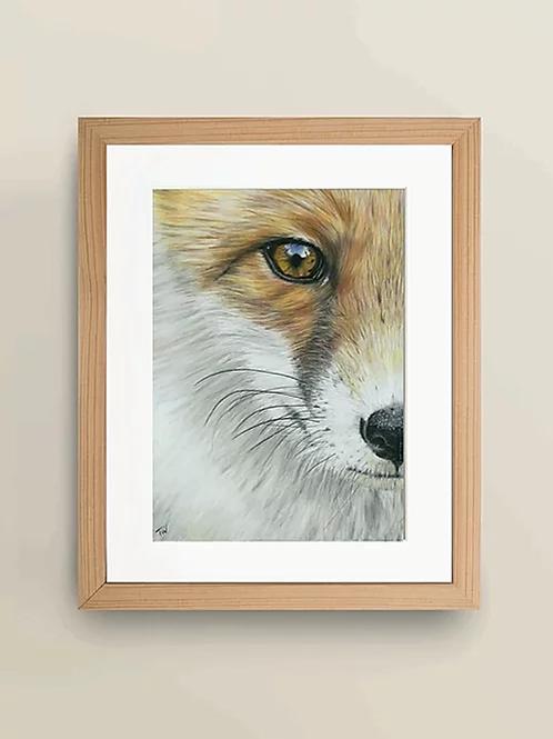 A4 'The Watchful Eye' Giclée Print