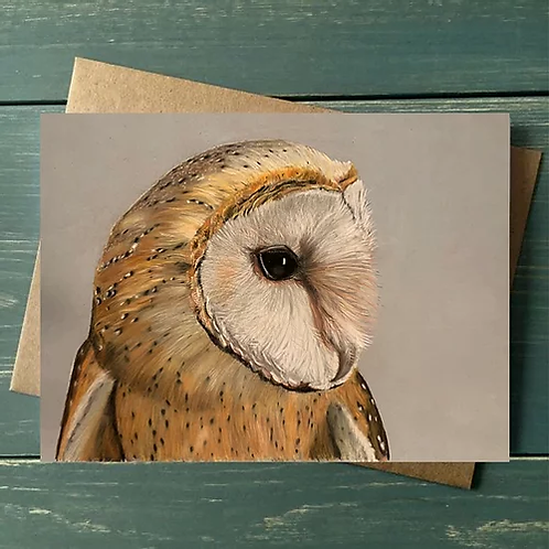 'Wise Owl' A6 Greetings Card