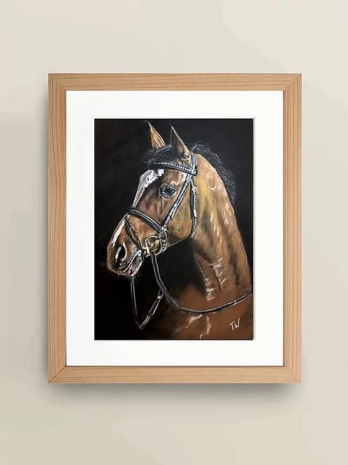 A4 'Horse' Giclée Print