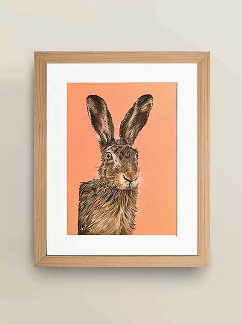 A4 'The Rufty Tufty Hare' Giclée Print