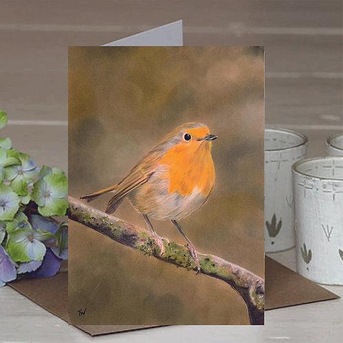A6 'In Loving Memory' Greetings Card