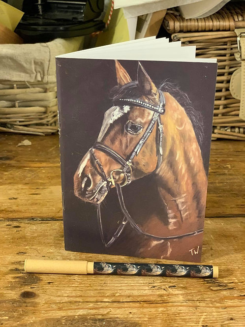 'Horse' Notebook and Pen Set