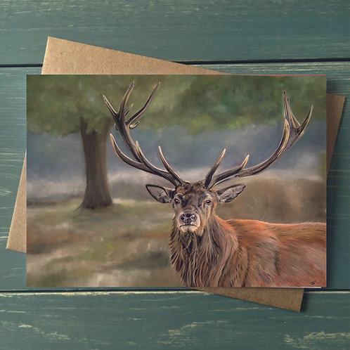 A6 'Guardian of the Forest' Greetings Card