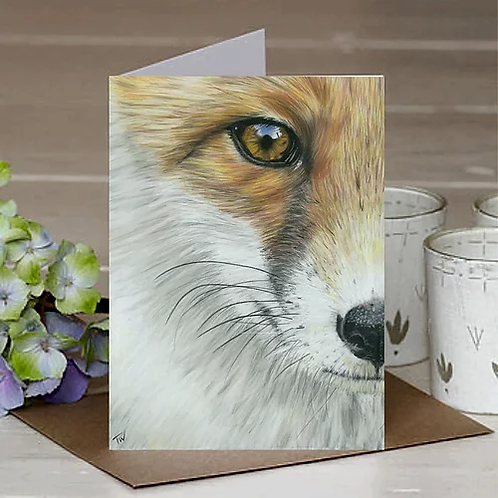 'The Watchful Eye' A6 Greetings Card