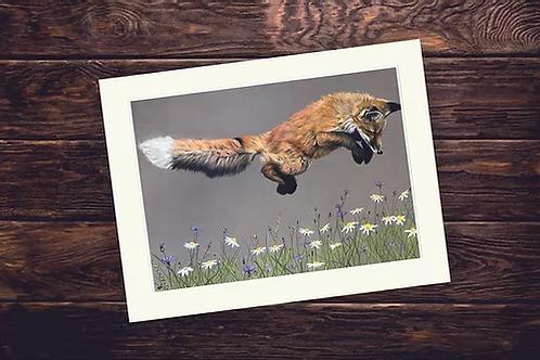 A4 'Jump for Joy' Giclée Print