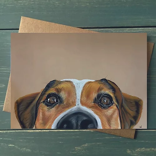 'Jack Russell' A6 Greetings Card
