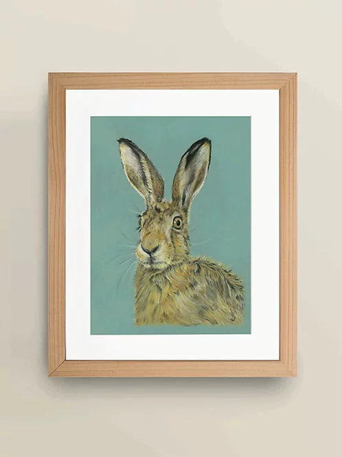 A4 'The Mad March Hare' Giclée Print