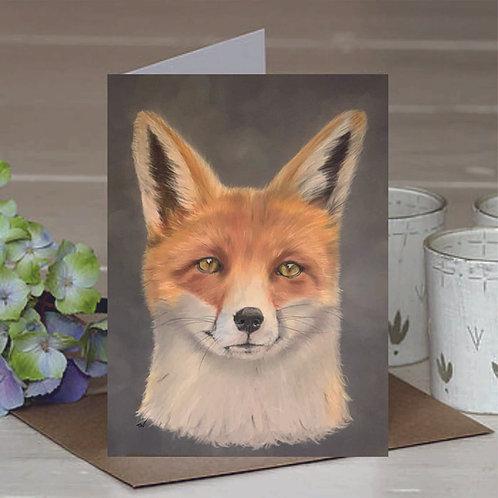 A6 'Fantastic Mr Fox' Greetings Card