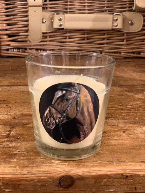 Horse Small Vanilla Candle