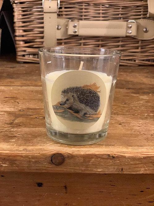 Hedgehog Small Vanilla Candle