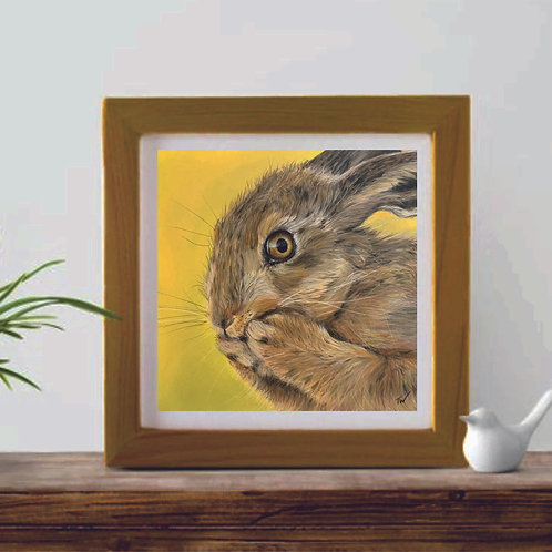 'Hettie Hare' Limited Edition Giclée Print