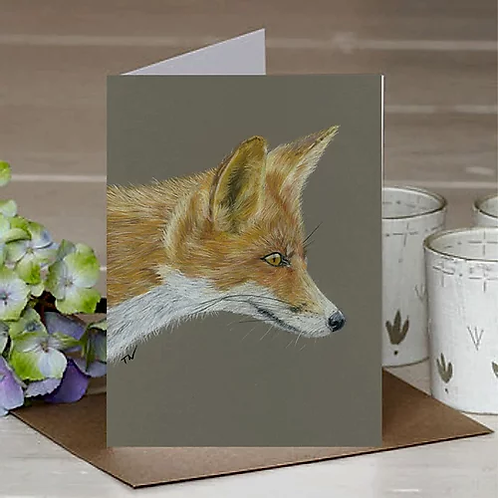 'The Sly Fox' A6 Greetings Card