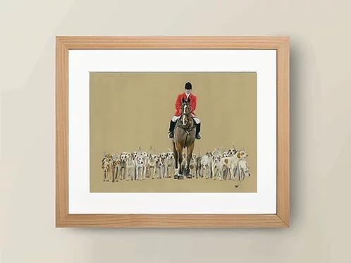 A4 'The Hunt' Giclée Print