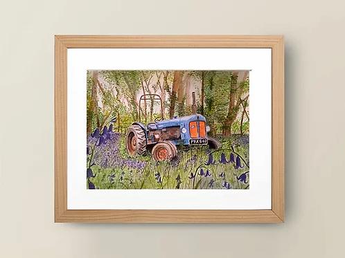 A4 'Fordson Major Tractor' Giclée Print