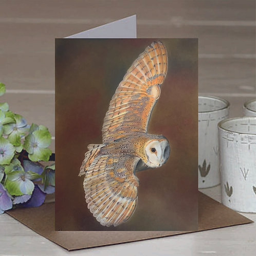 'Beauty in Flight' A6 Greetings Card