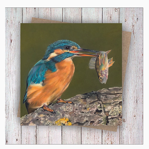 'Catch of the Day' Greetings Card