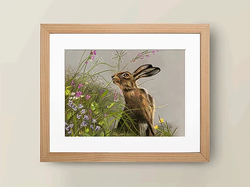 A4 'Time to stop and smell the flowers' Giclée Print