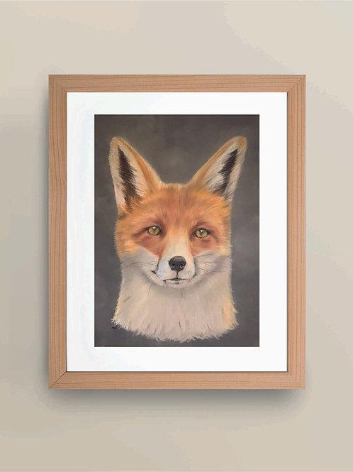 A4 'Fantastic Mr Fox' Giclée Print