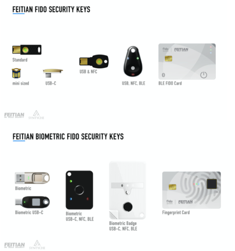 FEITIAN keys