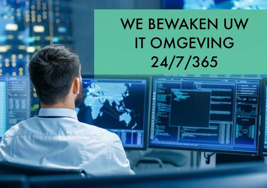 Actieve IT bewaking 24/7/365