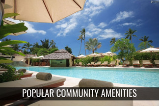 Most Popular Community Amenities