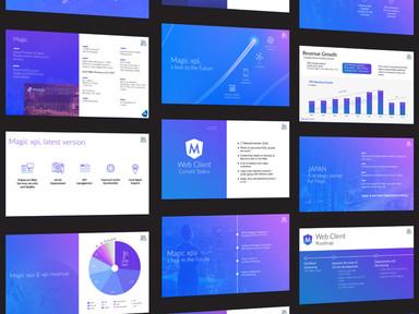 Magic software presentation