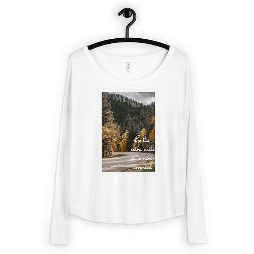 Extra Mile Ladies' Long Sleeve Tee