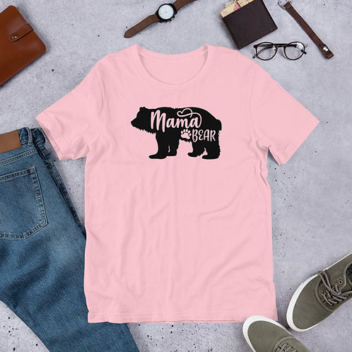 Mama Bear Short-Sleeve Unisex T-Shirt