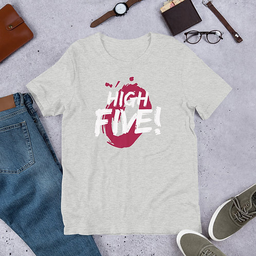 High Five Short-Sleeve Unisex T-Shirt