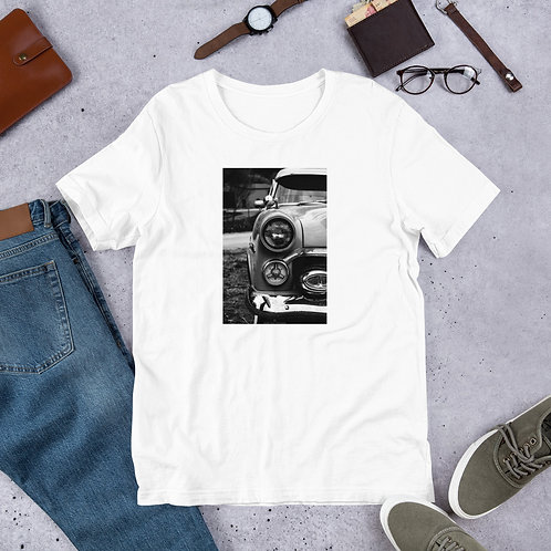 B&W car Short-Sleeve Unisex T-Shirt