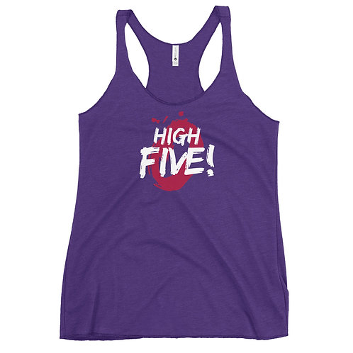 High Five Women's Racerback Tank