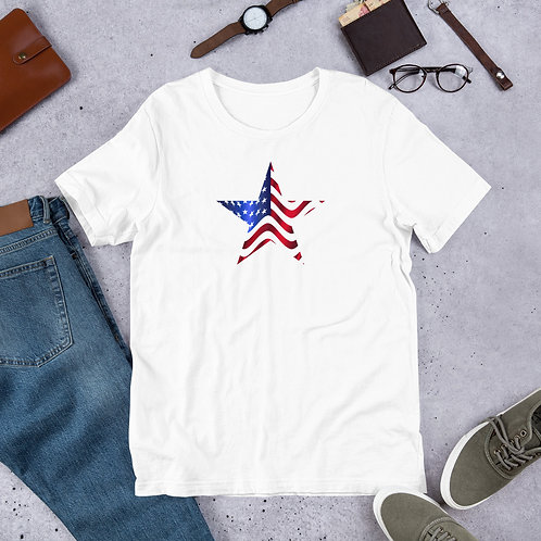 Star Short-Sleeve Unisex T-Shirt