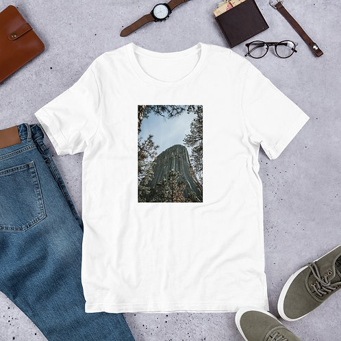 Devils tower Short-Sleeve Unisex T-Shirt