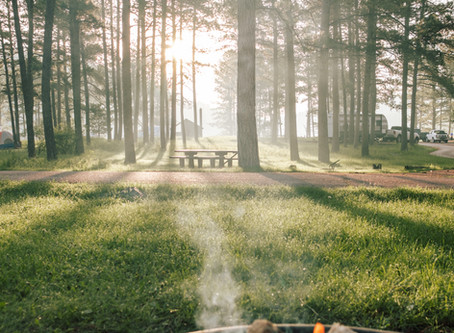 Things the outdoors and camping can teach us.