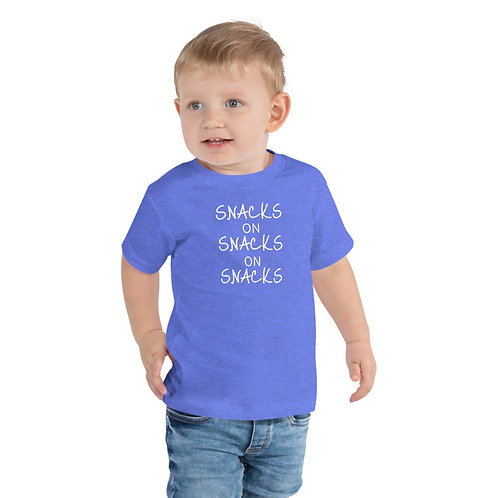 Snacks Toddler Short Sleeve Tee