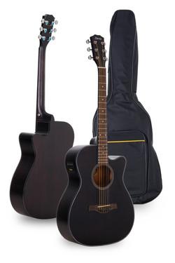 Davis Musical Instruments- DA-240-BK-EQT