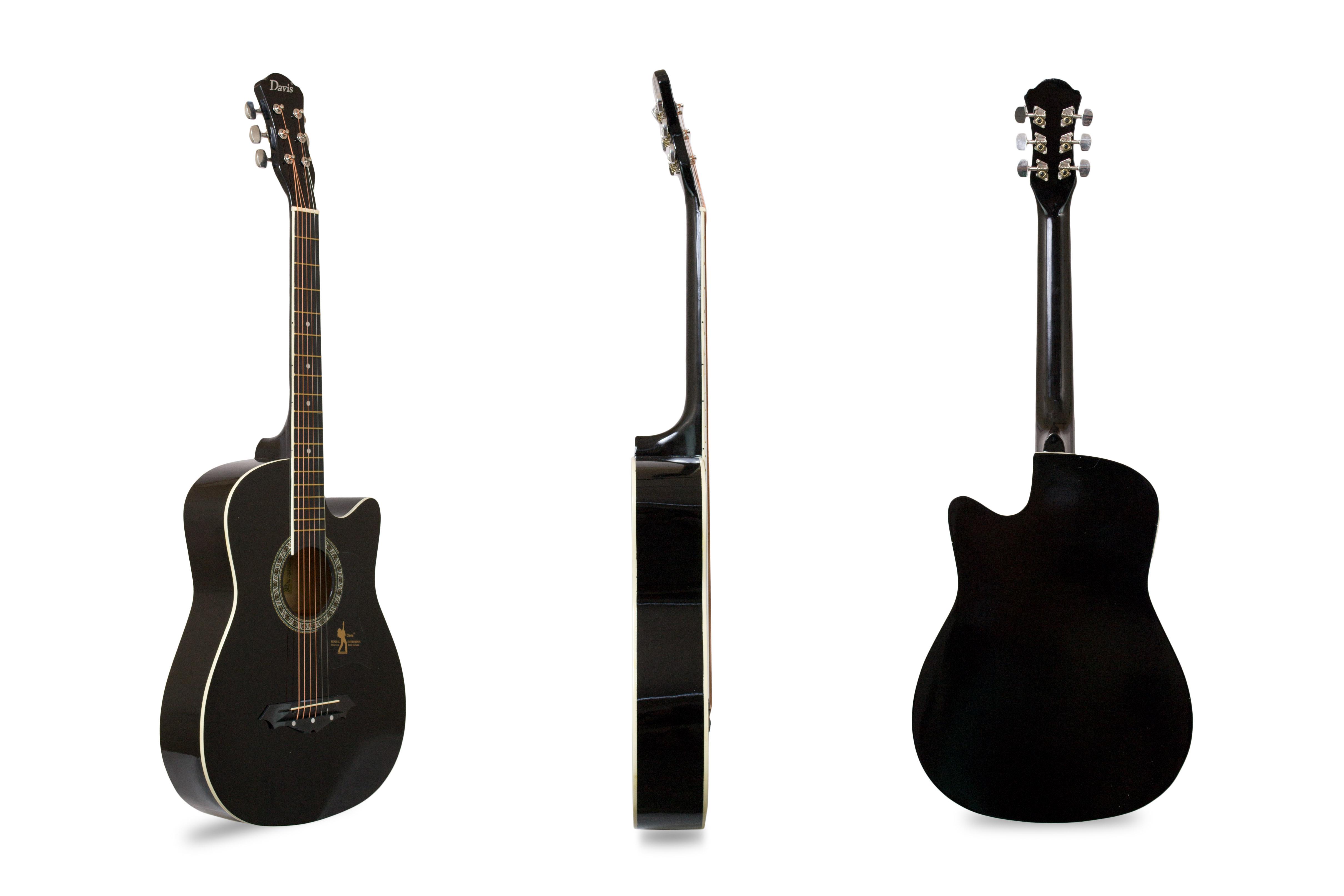 Davis Musical Instruments-JG380C-BLK_1