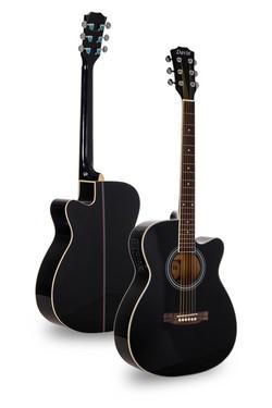 Davis Musical Instruments- DA008-BK-EQ4@